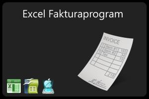 Enkelt excel fakturaprogram
