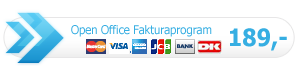Open Office fakturaprogram