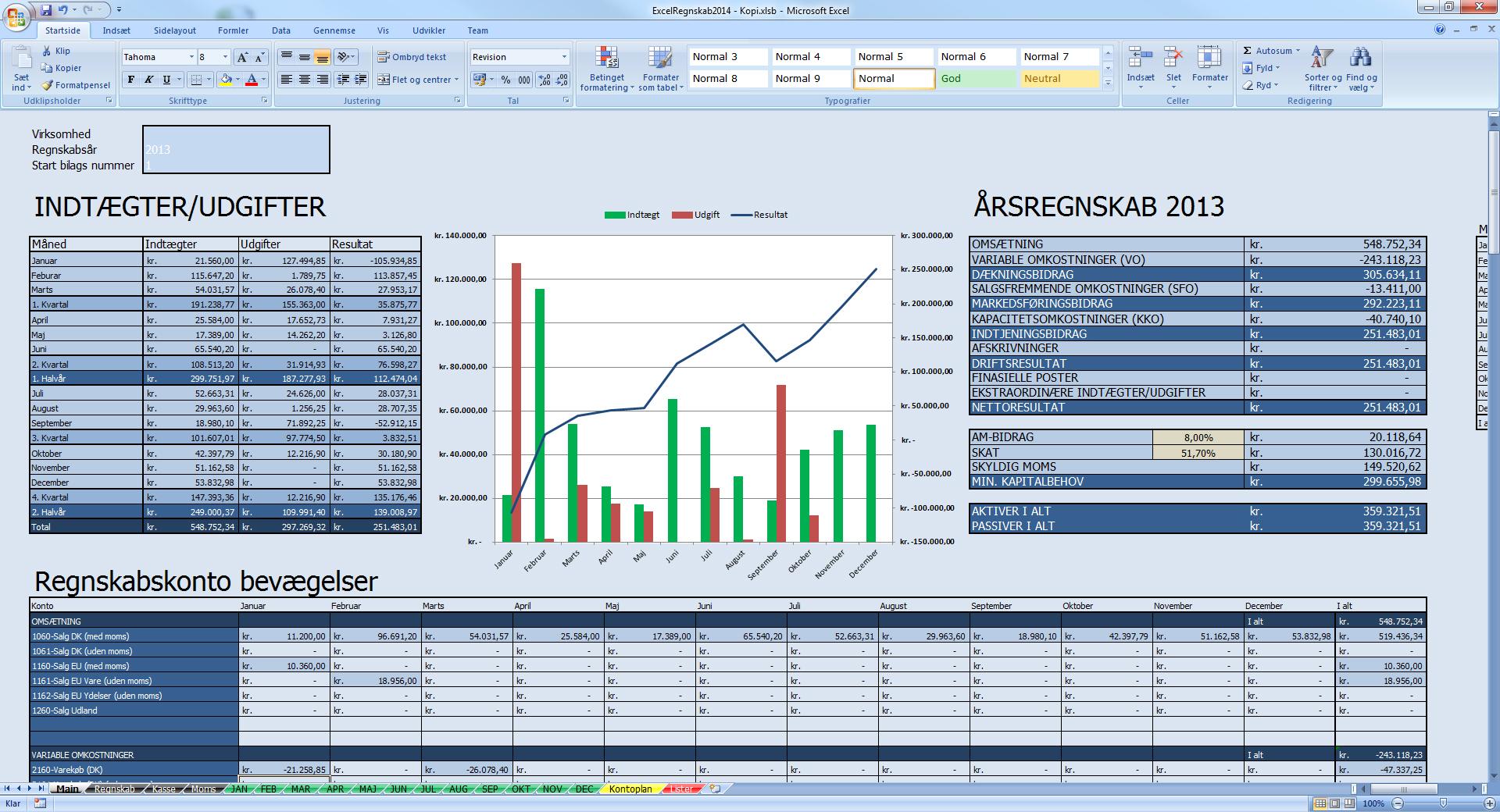 gratis regnskabsprogram til enkeltmandsvirksomhed