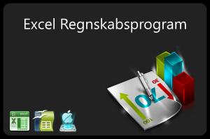 Enkelt og simpelt excel regnskabsprogram